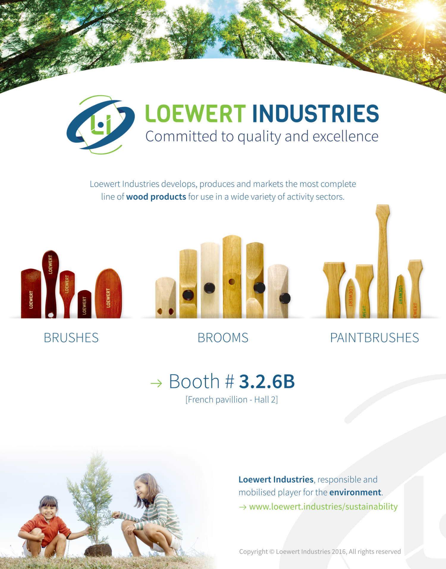 Loewert Industries at Interbrush 2016